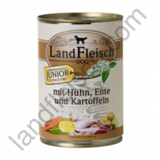 Conserva Land Fleisch Junior Rata si Cartof